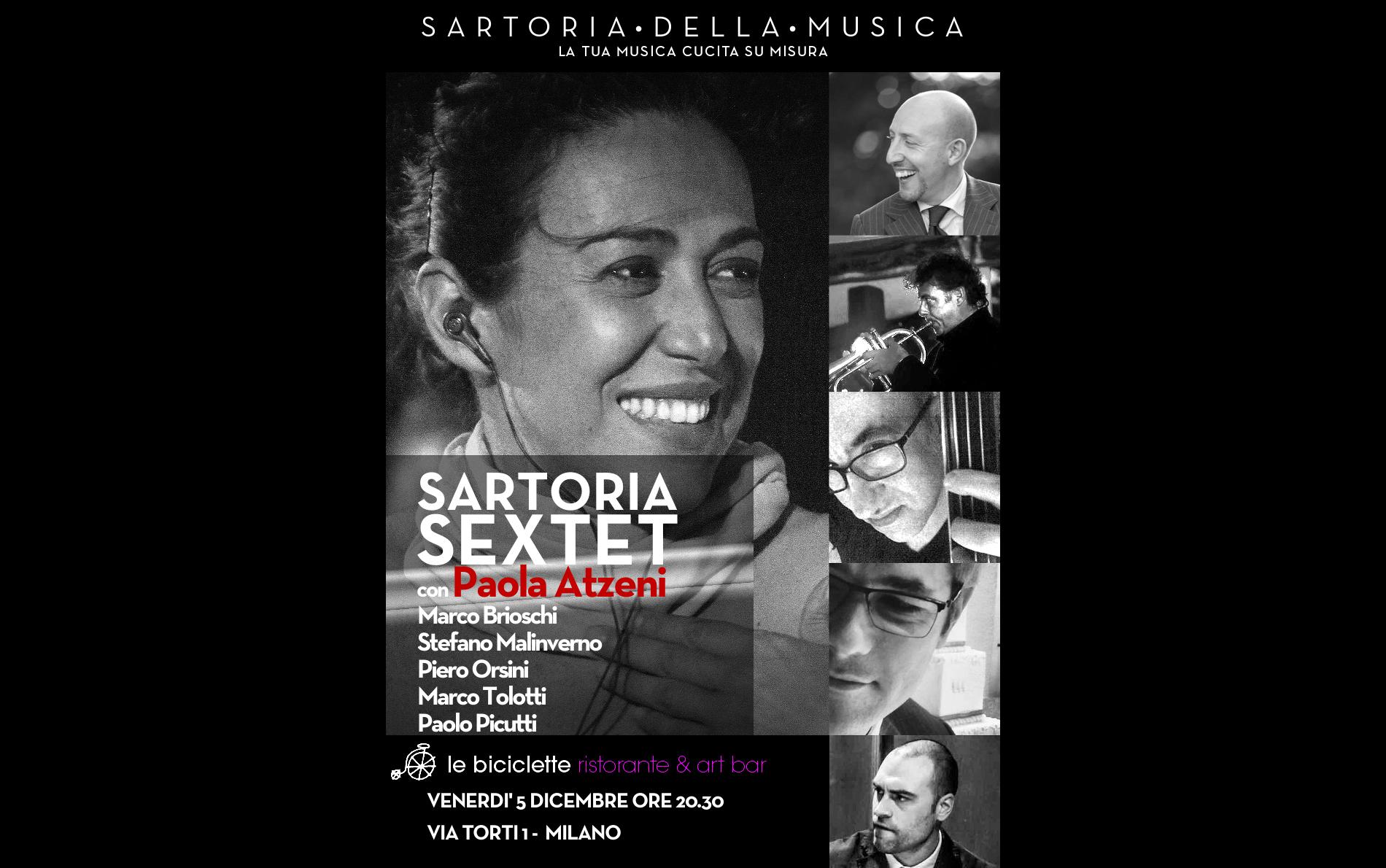 VENERDÌ' 5 DICEMBRE @ LE BICICLETTE