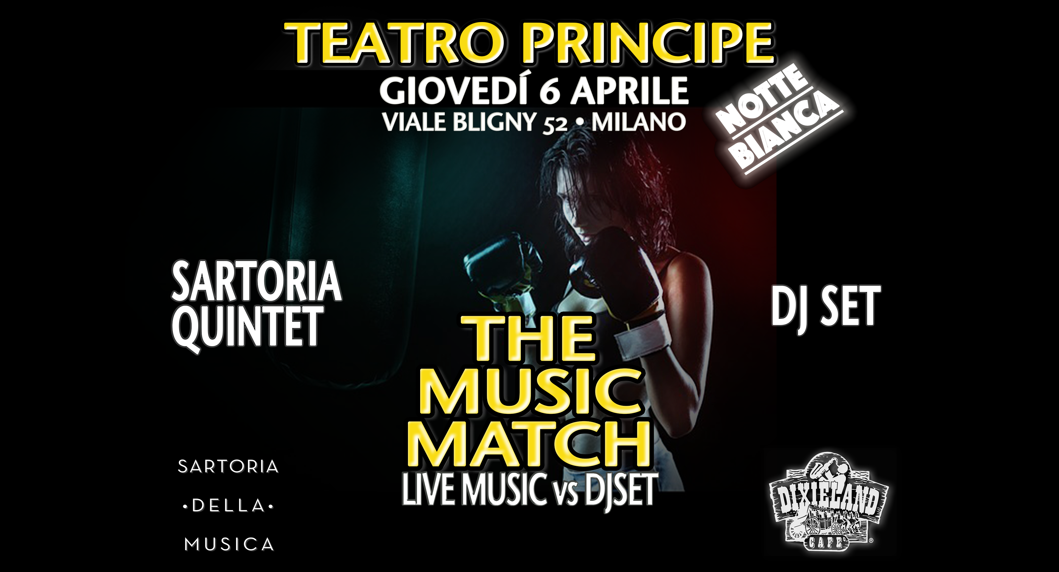 SAVE THE DATE – GIOVEDÌ 6 APRILE