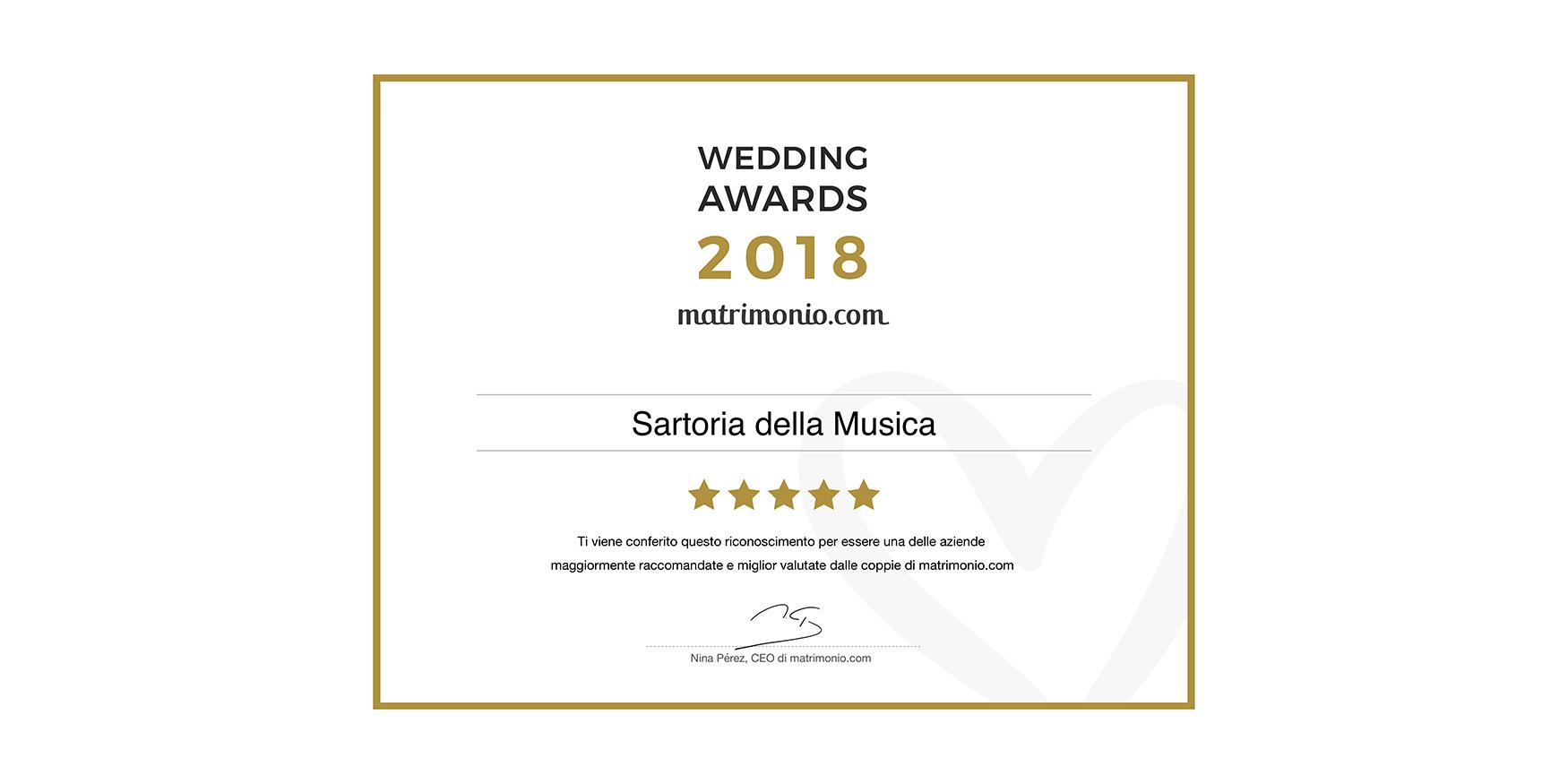 WEDDING AWARDS 2018