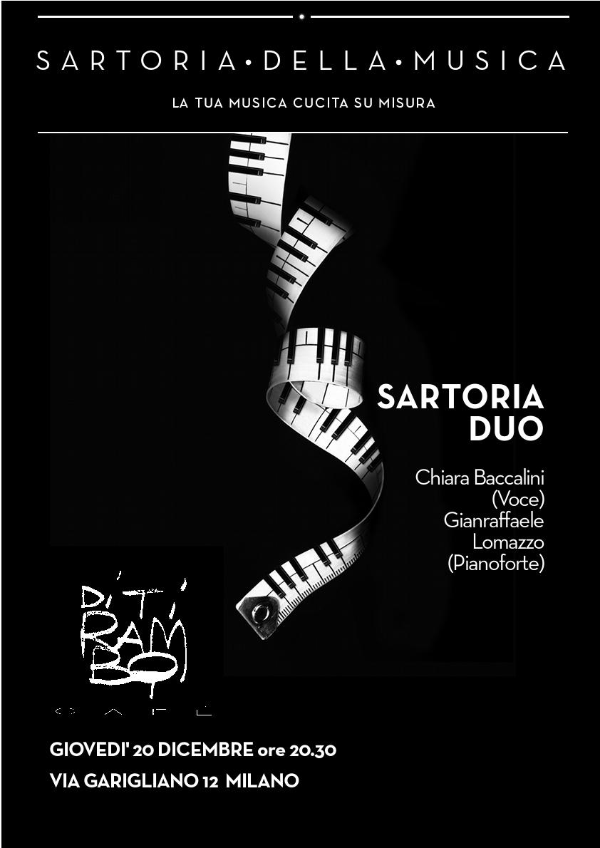 Musica dal Vivo con Sartoria Duo al Ditirambo Cafè