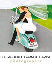 Logo del Il fotografo Claudio Trasforini, amico di Sartoria della Musica.