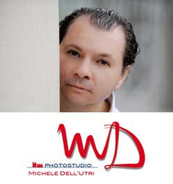 Logo del fotografo Michele dell'Utri, amico di Sartoria della Musica.