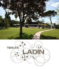 Logo della location per matrimoni tenuta Ladin